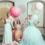 Castle Tales Styledshoot Kleider Ballons Die Macherei