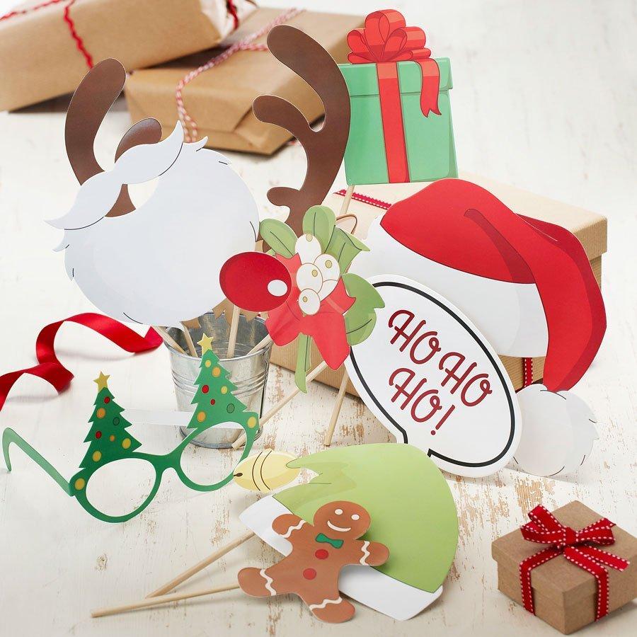 Photo Booth Weihnachten.Photo Booth Props Weihnachten