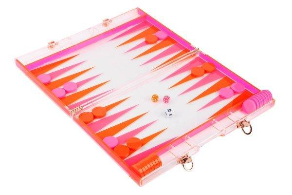 Backgammon_Brett_orange_pink_1