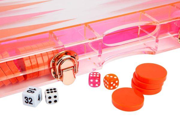 Backgammon_Brett_orange_pink_2