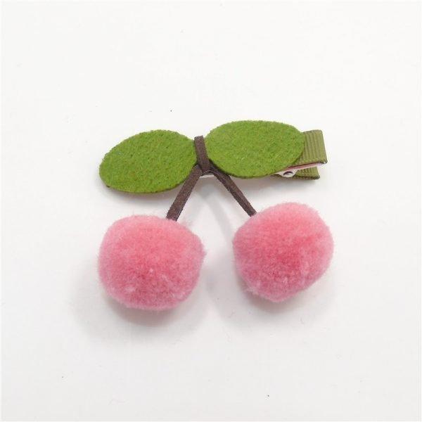 Haarclips-Kirsche-rosa-clean