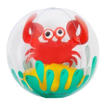 Wasserball mit 3D Krabbe im Inneren sorgt für jede Menge Badespaß. Die Macherei