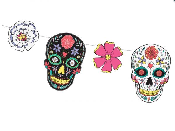 Girlande Dia de los Muertos
