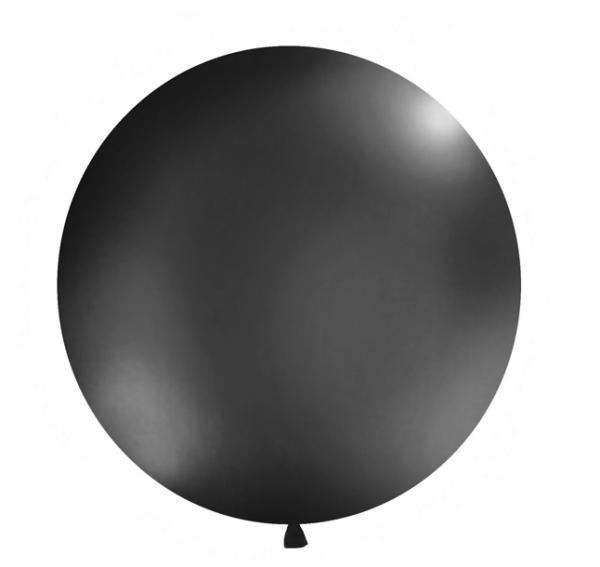 Riesen Luftballon Schwarz