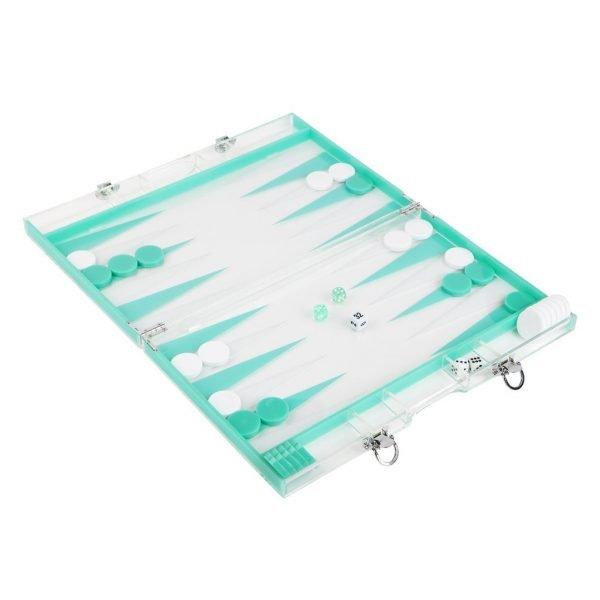 Acryl Backgammon Winter Edition
