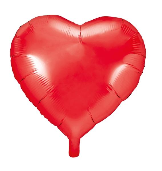 Folienballon Herz Rot