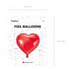 Verpackung Folienballon Herz verschiedene Farben. Die Macherei
