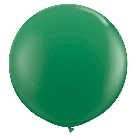 Riesen_Luftballon_Dunkelgruen1