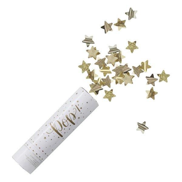 Confetti_Kanone_Sterne_Gold