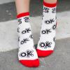Statment Socken OK . Die Macherei