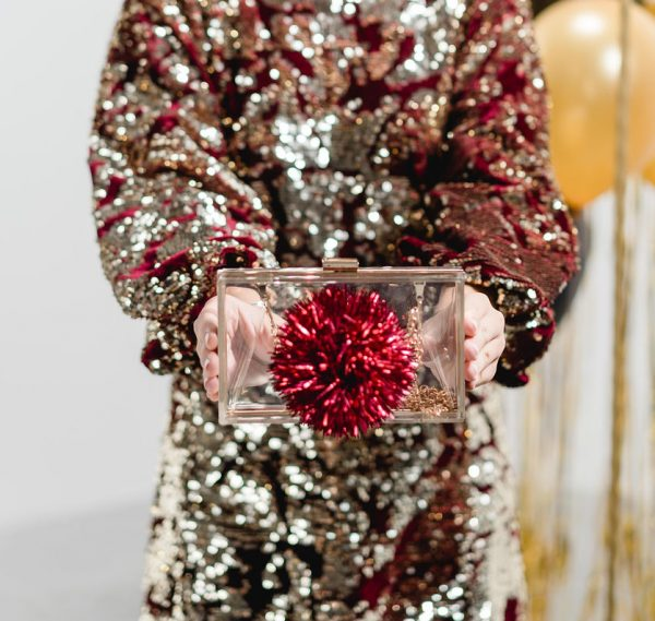 Bedazzling Clutch Metallic PomPoms 3