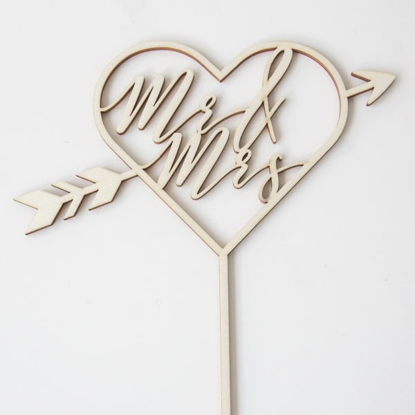 caketopper_heart_arrow_mr&mrs_2