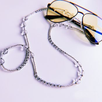 Brillenkette Glasperlen . Die Macherei