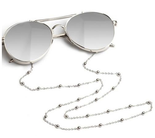 Brillenkette gold silber . Die Macherei