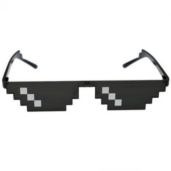 Sonnenbrille Pixel . Die Macherei