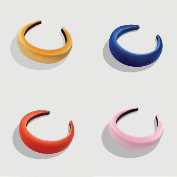 XL Samt Haarreifen 4 Farben