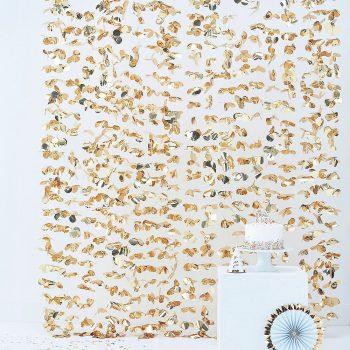 Photobooth Hintergrund Gold. Die Macherei