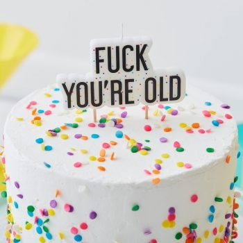 Fuck you're old Partykerze. Die Macherei